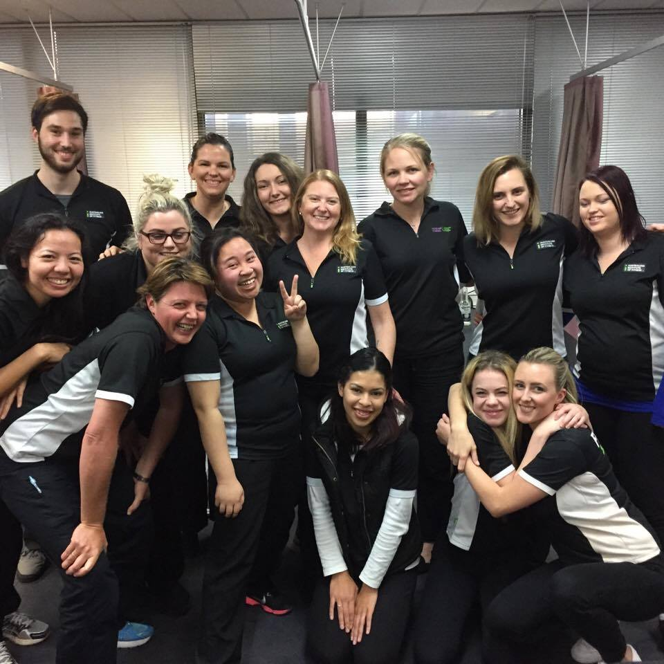 Remedial Massage Students - The Australian Institute of Fitness - Class of 2015